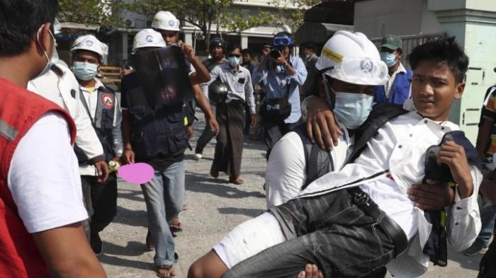EU kritisiert Gewalt gegen Demonstrierende