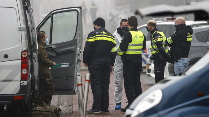 Explosion at Dutch COVID-19 test centre appears intentional - Dutch police