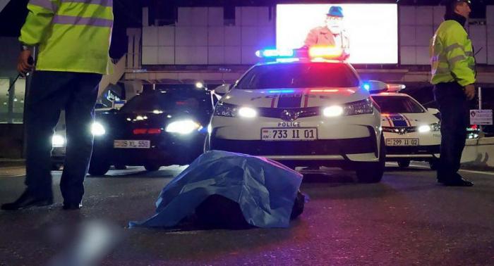 Naməlum avtomobil Manvel Qriqoryanın qaynını vurub öldürdü