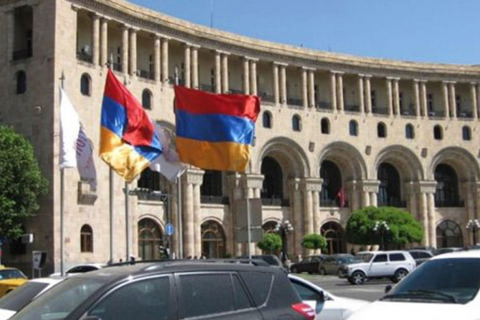 Protest der Karabach-Armenier gegen Armenien