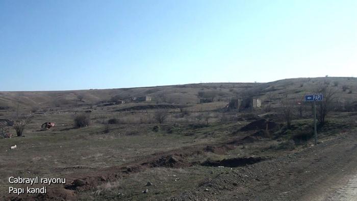 Cəbrayıl rayonunun Papı kəndi -    VİDEO