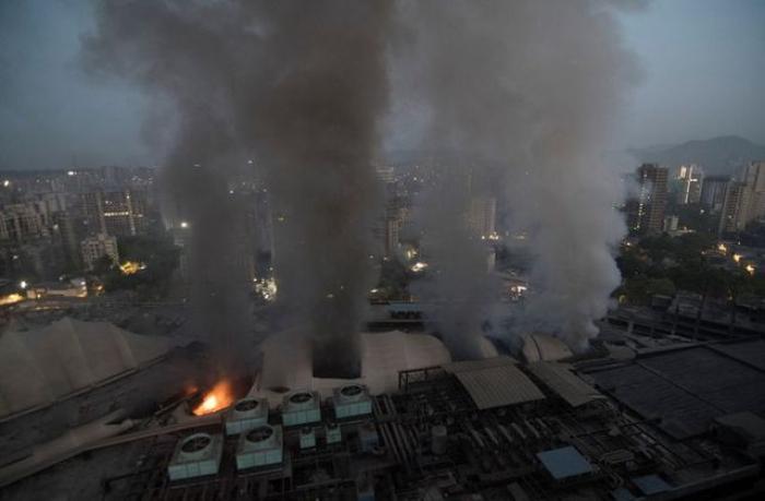 At least six dead in Mumbai hospital fire