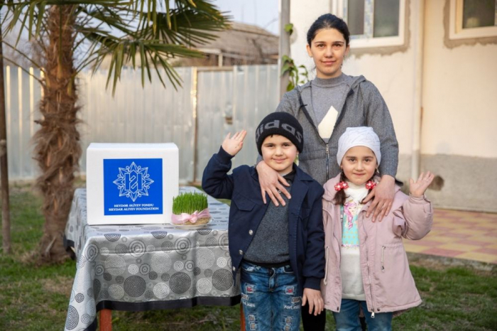Heydar Aliyev Foundation sent gifts to low-income families on occasion of Novruz holiday