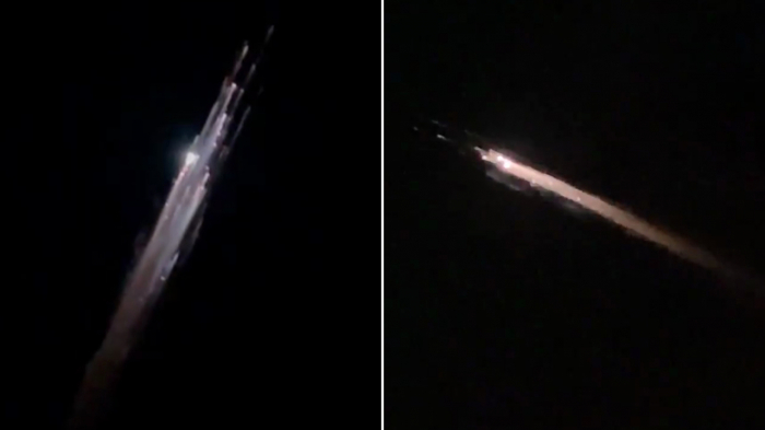 SpaceX debris creates spectacular lightshow over the US Pacific Northwest -  VIDEO