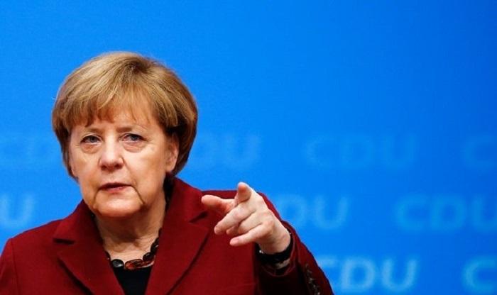 Merkel karantin müddətini uzatmağı təklif etdi