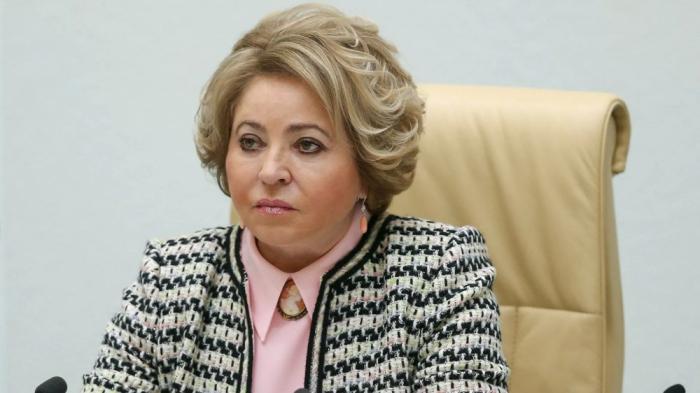 """Valentina Matvienko: """"Rusia cuenta con el cumplimiento del acuerdo trilateral sobre Nagorno Karabaj por Armenia"""""""