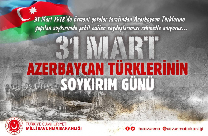 """We share pain of our Azerbaijani Turk brothers"" - Turkish MoD"
