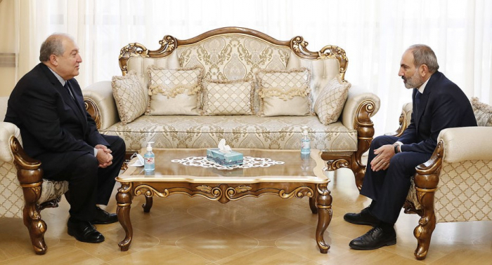 Armenian President and PM discuss the political situation in Armenia