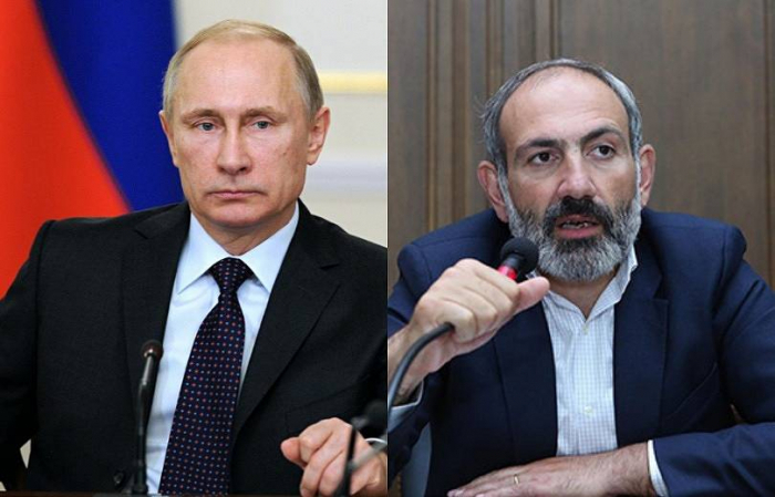 Pashinyan and Putin discuss Karabakh