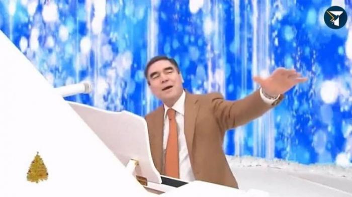 Türkmənistan prezidenti yeni mahnı yazdı