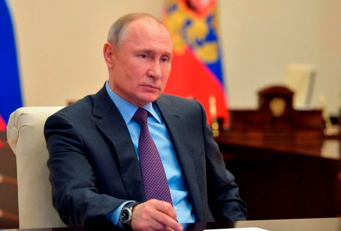 """""""Rusiya münaqişənin dayandırılmasında böyük rol oynadı"""" -  Putin"""