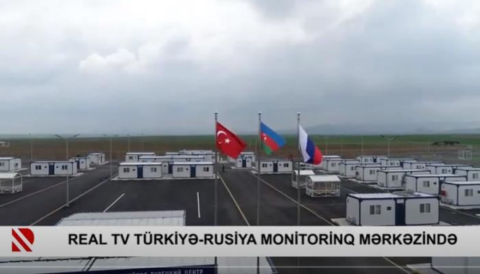 REAL TV Türkiyə-Rusiya Monitorinq Mərkəzində -    VİDEO