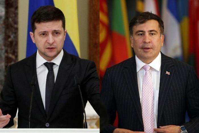 Zelenski Saakaşvilini Koordinasiya Şurasından çıxardı