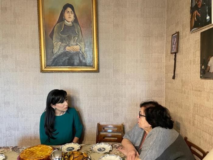 Ombudsman Novella Cəfəroğlu ilə görüşüb