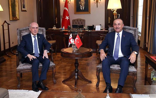 """""""Gürcüstanın mövqeyinə hörmətlə yanaşırıq"""" -  Çavuşoğlu"""