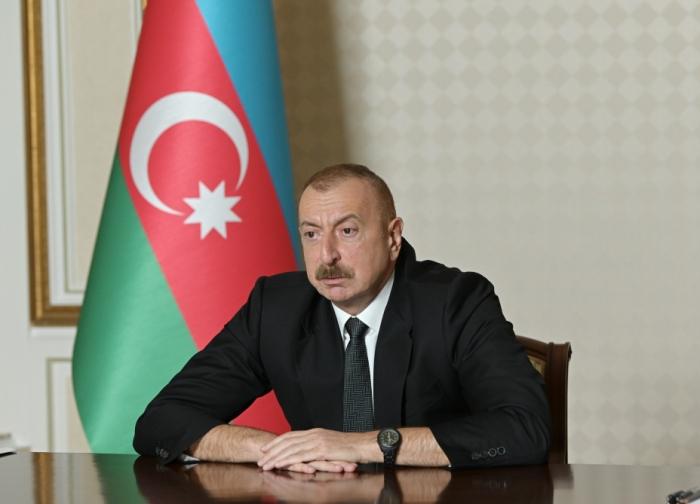 """""""يجب أن تكون الأمم المتحدة فاعلة في فترة ما بعد الصراع"""" - إلهام علييف"""