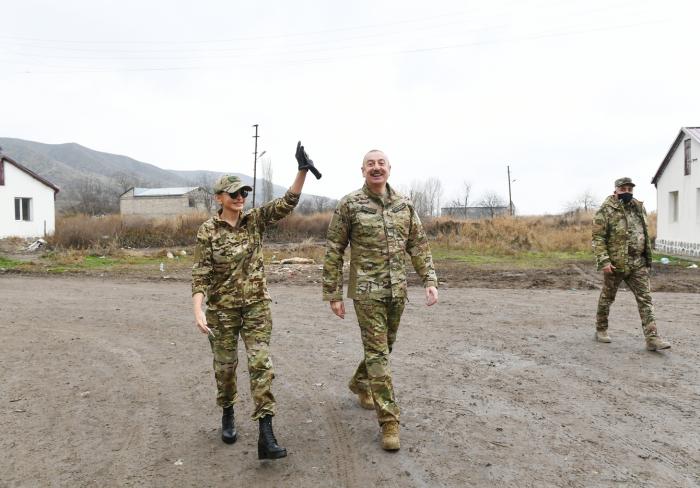Mehriban Əliyeva Zəngilandan görüntülər paylaşdı -    VİDEO