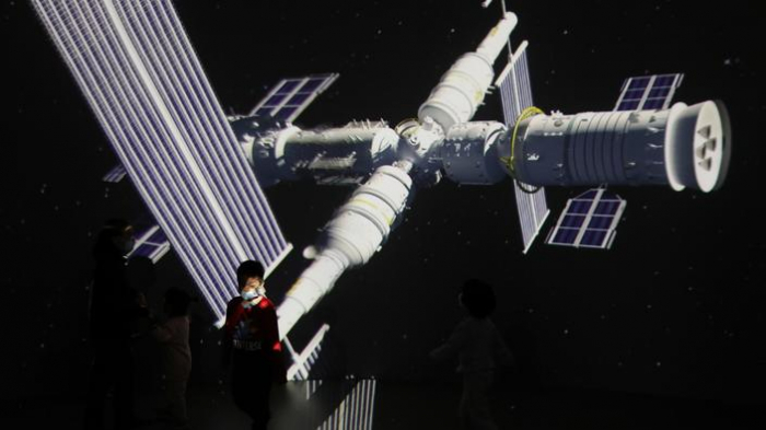 Lancement du premier module de la station spatialechinoise