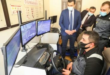 """La delegación de """"AzerGold"""" se familiarizó con las actividades del Centro Estatal de Educación Profesional de Ganja"""