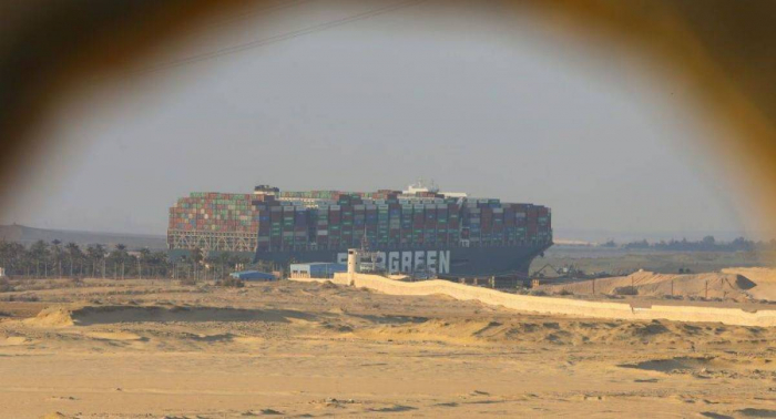 """هيئة قناة السويس تعلن شرط الإفراج عن السفينة """"إيفر غيفن"""""""