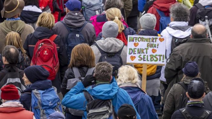 Proteste gegen die Corona-Politik verboten