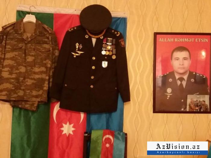 Şəhid polkovnikin xatirəsinə bulaq inşa edildi