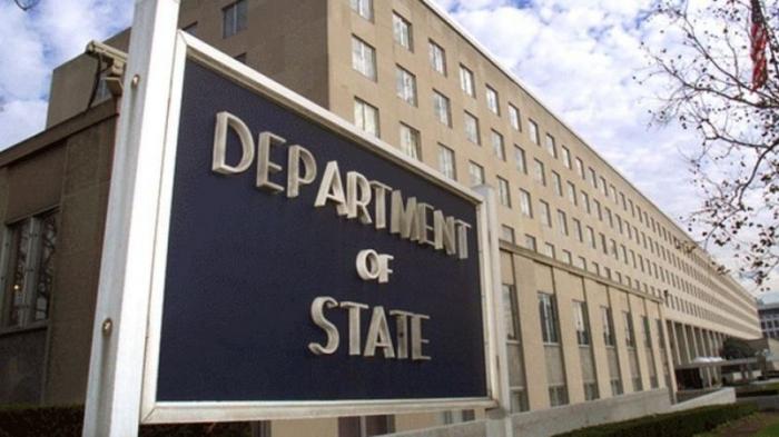 """ABŞ Dövlət Departamenti Rusiyanı """"təcavüzkar"""" adlandırdı"""