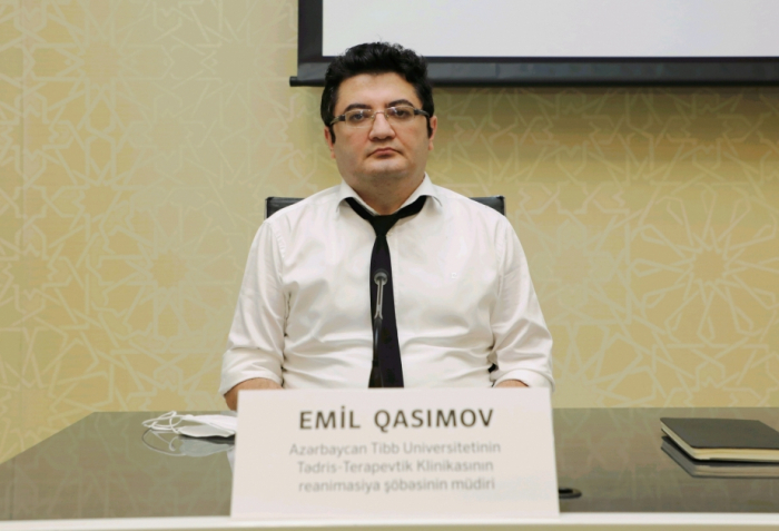 """""""Anticisimlərin olmaması təlaş yaratmamalıdır"""" -  Emil Qasımov"""