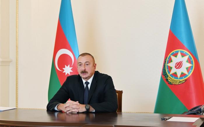 """إلهام علييف:   """"دعم تركيا لأذربيجان سوف يعيش في قلوبنا"""""""