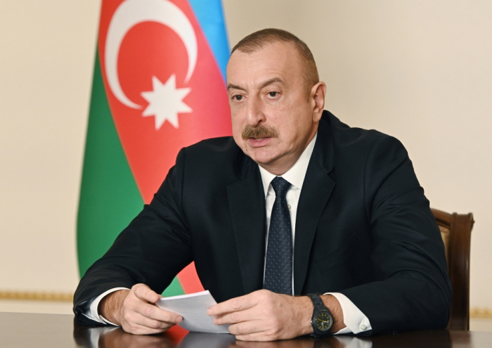 """İlham Əliyev:    """"Biz ədaləti bərpa etdik"""""""