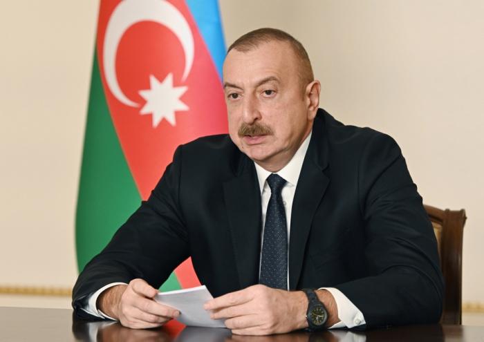 """El Presidente Aliyev:""""Restablecimos la justicia"""""""