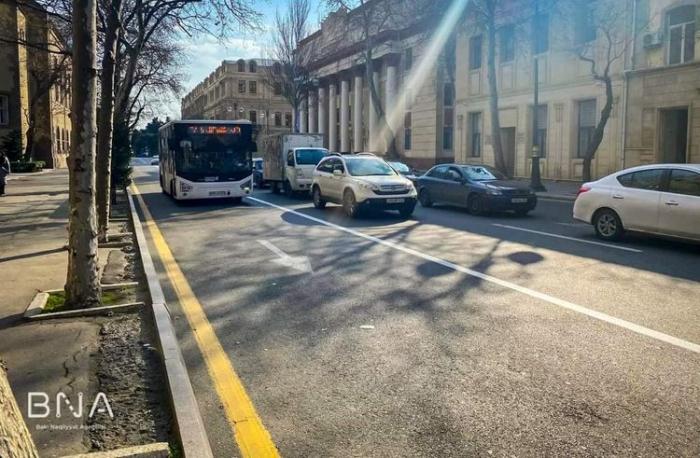 Gələcəkdə bütün Bakı ərazisində avtobus zolaqları salınacaq