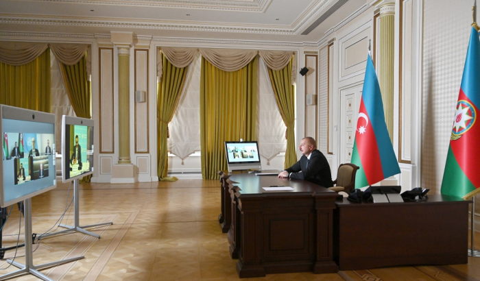President Aliyev speaks of discrimination in the distribution of vaccines
