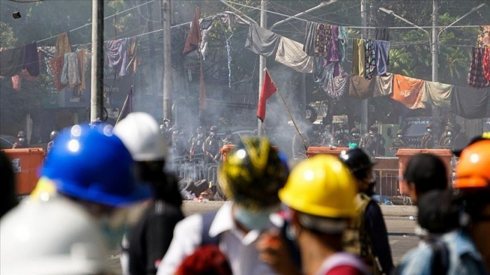 536 killed in Myanmar military crackdown, rights group says
