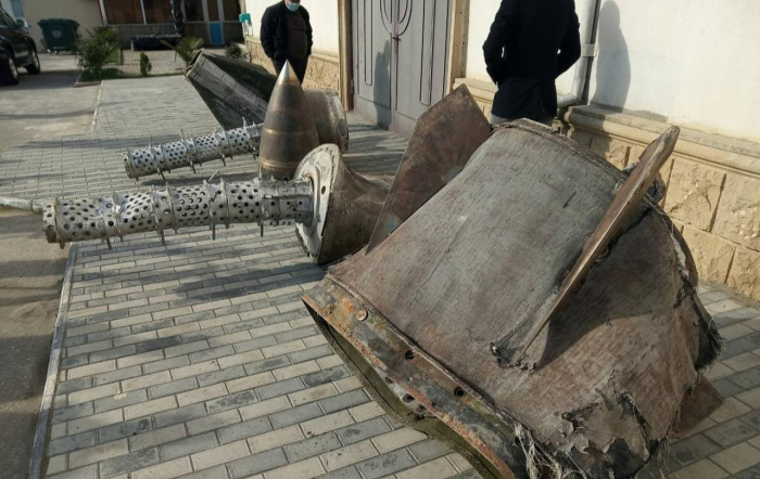 Fragments of Iskander missile found in Azerbaijan