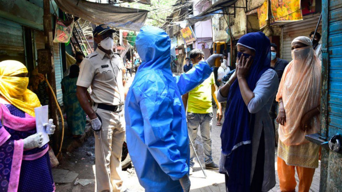 India reports six-month high of coronavirus daily infections