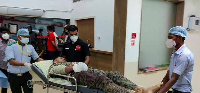 At least 22 Indian security members killed in Maoist attack