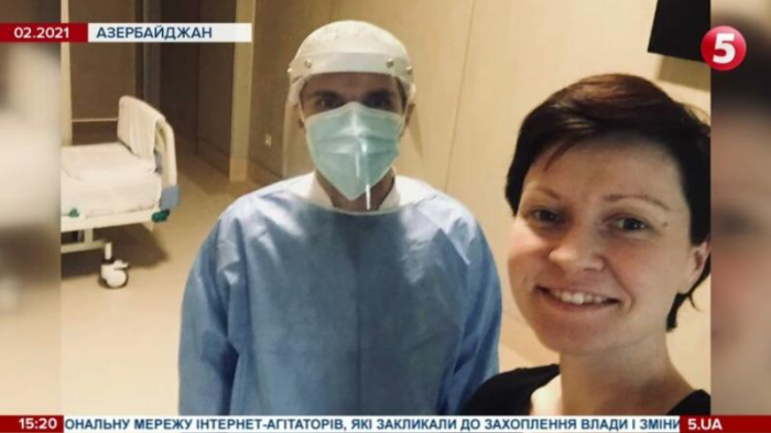 Ukrainian journalist infected with COVID-19 recovers in Baku –   VIDEO