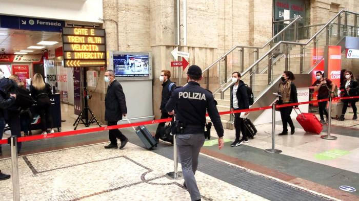 Italia extendió su confinamiento y las restricciones para ingresar al país hasta el 30 de abril