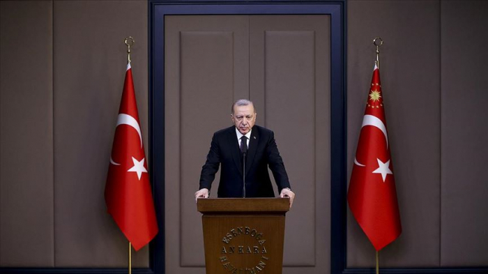 Turkey's Erdogan ratifies agreement with Azerbaijan on defense industry cooperation