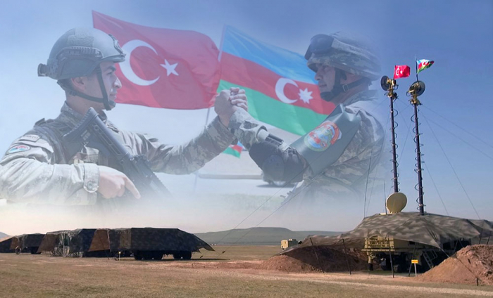 Signal troops of Azerbaijani, Turkish armies launch joint exercises - VIDEO