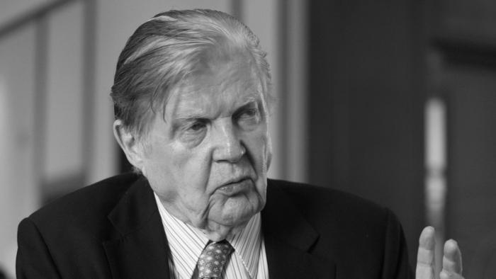 """Muere el Nobel de Economía y """"padre del euro"""", Robert Mundell"""