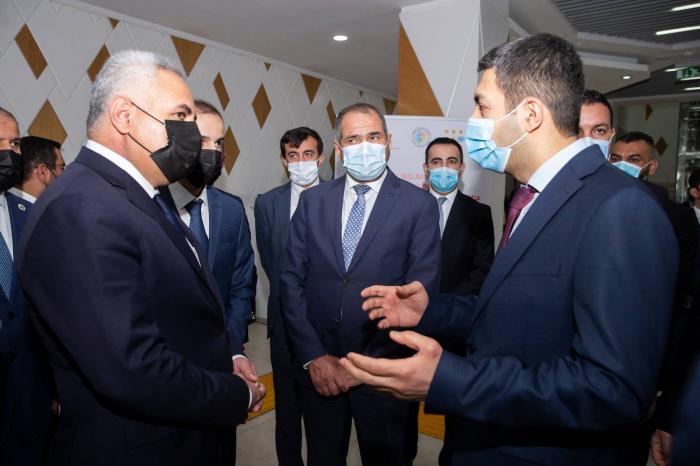 Une délégation du Parlement irakien visite le service ASAN - PHOTO