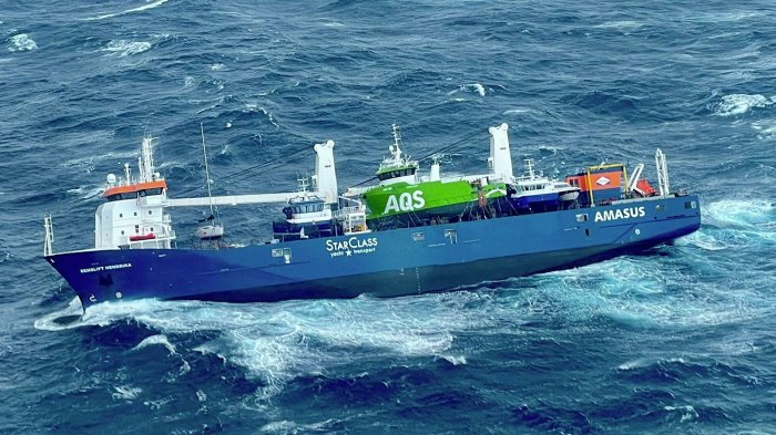Frachter vor norwegischer Küste außer Kontrolle
