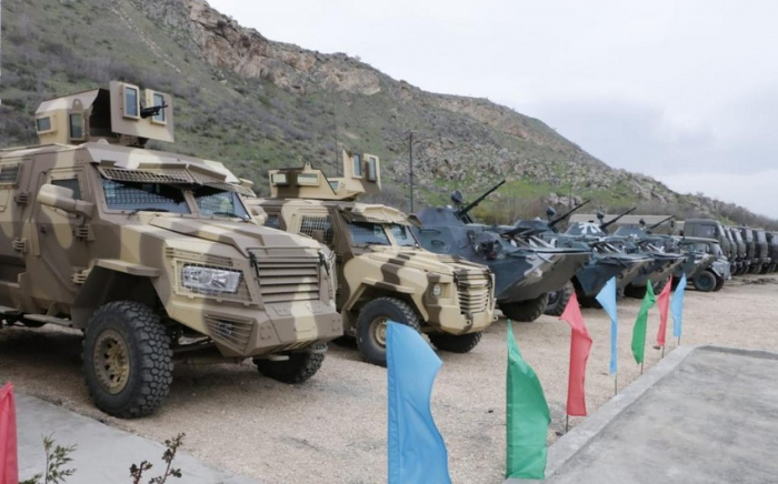 Aserbaidschan weiht eine weitere Militäreinheit in Gubadli ein -   FOTOS