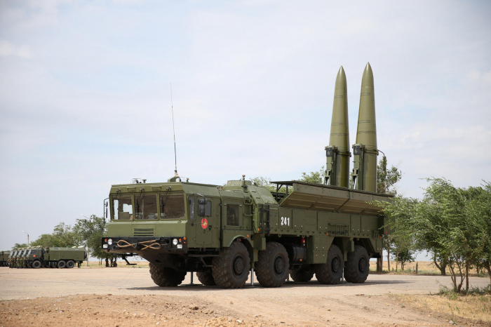 Iskander-M missiles