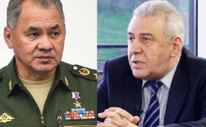 Shoigú y Harutyunyán discuten el asunto de Karabaj