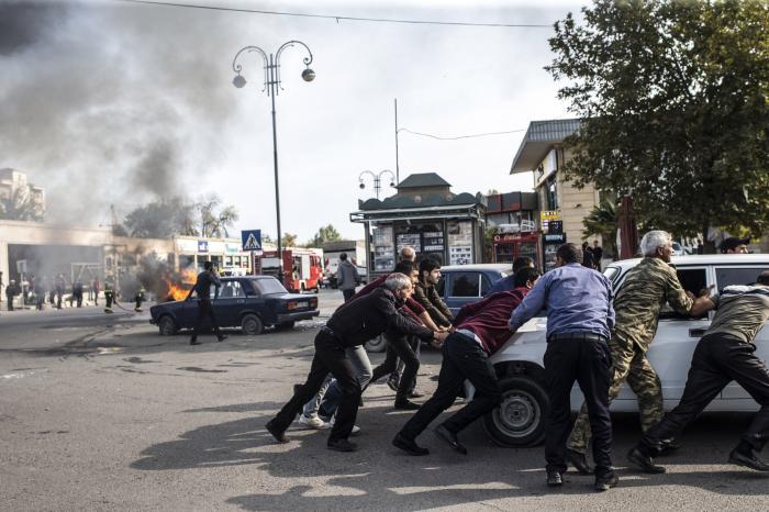 Amnesty International:   Kriegsverbrechen armenischer Streitkräfte in Berg-Karabach