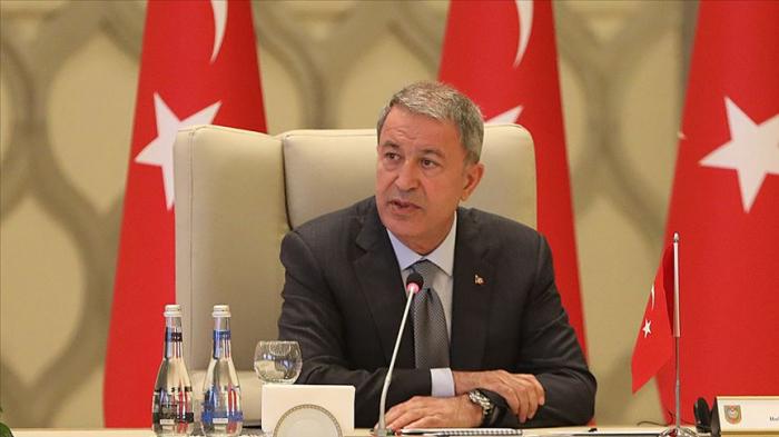 """""""Seguimos trabajando en estrecha colaboración con Azerbaiyán"""" -   Hulusi Akar"""