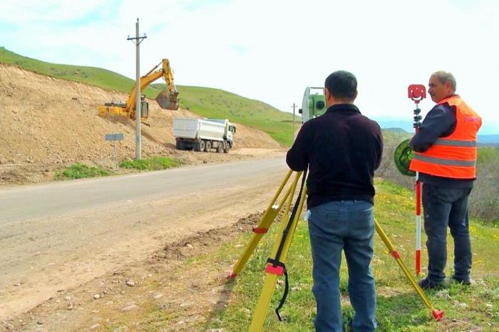 Début de la construction de la route Khoudaférin-Goubadly-Latchine -  PHOTOS